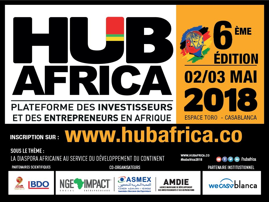 Exposition au salon des investisseurs Africains Hub Africa