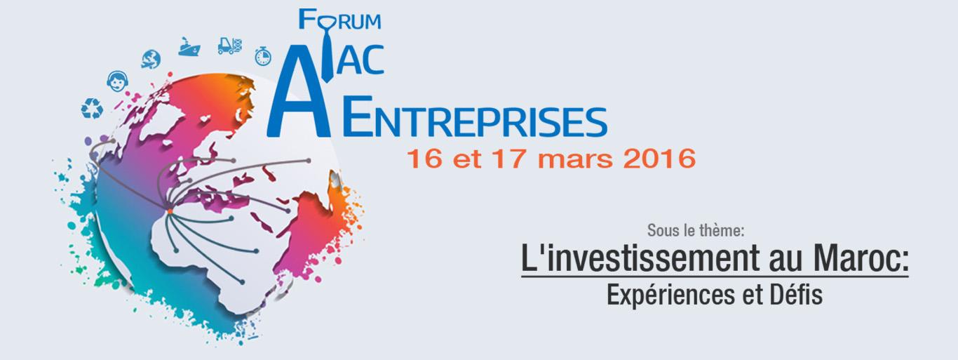 Participation au Salon AIAC -ENTREPRISES