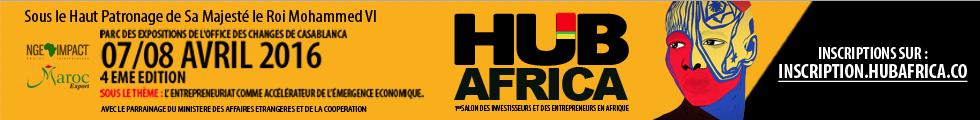 Participation au salon HUB AFRICA